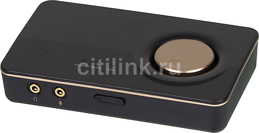 Звуковая карта USB ASUS Xonar U7,  7.1, Ret