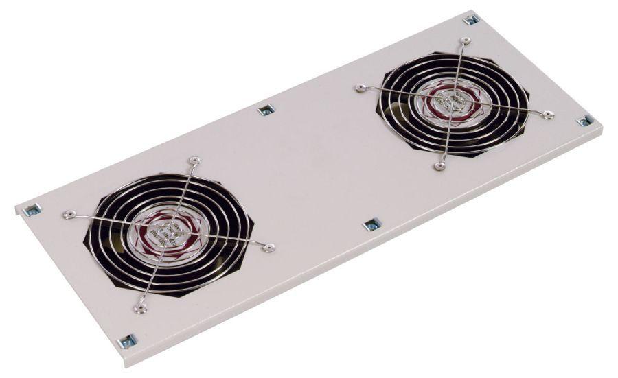 Блок 2-х вентиляторов ЦМО потолочный (170x425) с датчиком 35С (МВ-400-2С)