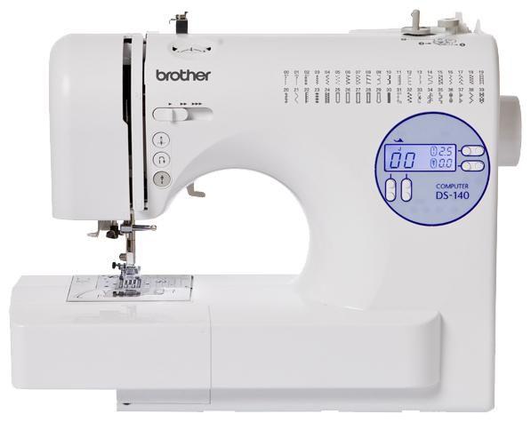 Швейная машина BROTHER DS-140 белый