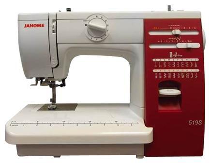 Швейная машина JANOME 519S белый