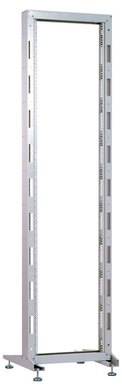 Стойка однорамная ЦМО (СТК-33) 33U 600ммX600мм направл.закл.гайки 180кг серый