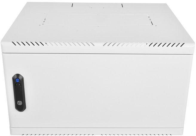 Шкаф коммутационный ЦМО (ШРН-6.480.1) 6U 600x480мм пер.дв.стал.лист 50кг серый