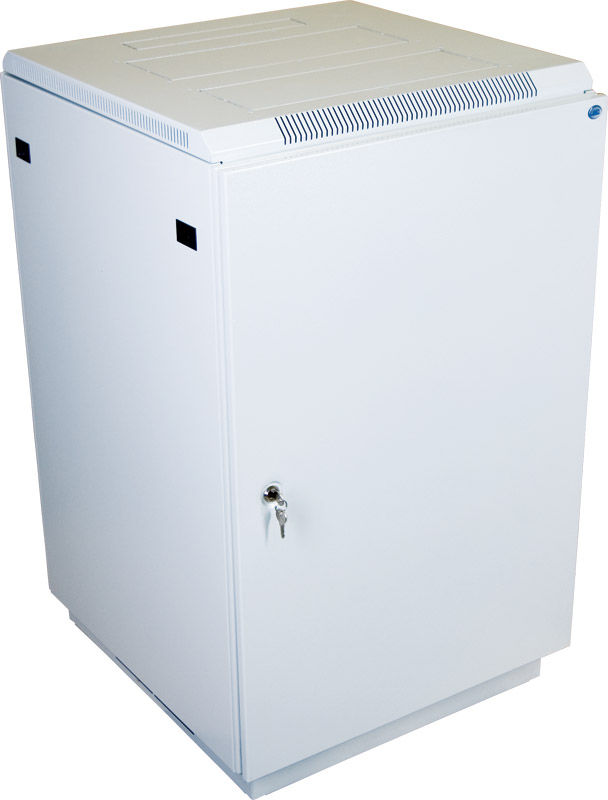 Шкаф коммутационный ЦМО (ШТК-М-18.6.8-3ААА) 18U 600x820мм пер.дв.металл задн.дв.стал.лист 2 бок.пан.