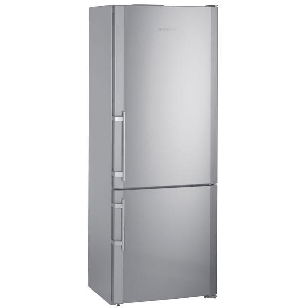 Холодильник LIEBHERR CNesf 5113,  двухкамерный,  нержавеющая сталь