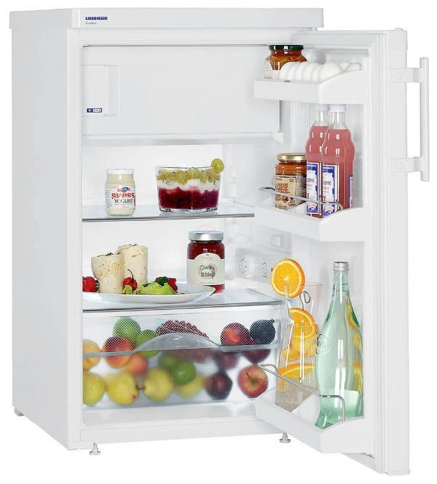 Холодильник LIEBHERR T 1414,  однокамерный, белый