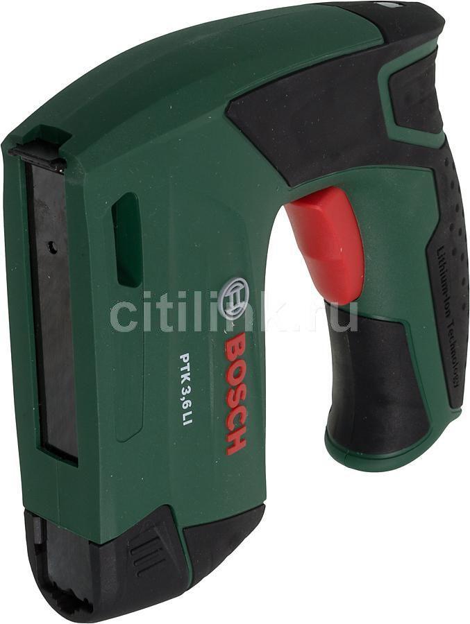 Аккумуляторный степлер BOSCH PTK 3.6 LI [0603968120]
