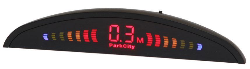 Парковочный радар PARKCITY Riga 418/106,  черный [riga 418/106 black]