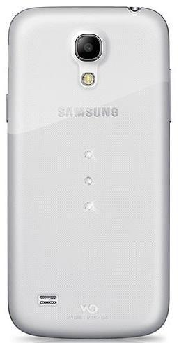 Чехол (клип-кейс) WHITE DIAMONDS Trinity, 2320TRI5, для Samsung Galaxy S4 mini, прозрачный