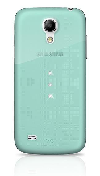 Чехол (клип-кейс) WHITE DIAMONDS Trinity, 2320TRI53, для Samsung Galaxy S4 mini, зеленый