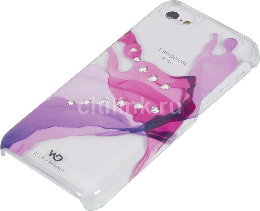 Чехол (клип-кейс) WHITE DIAMONDS Liquids, 1220LIQ41, для Apple iPhone 5c, розовый