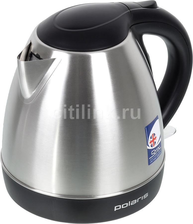 Чайник электрический POLARIS PWK 1843CA, 2100Вт, серебристый