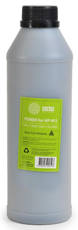 Тонер CACTUS CS-THP1-1000,  для HP LJ 1010/1012/1015,  черный, 1000грамм, флакон