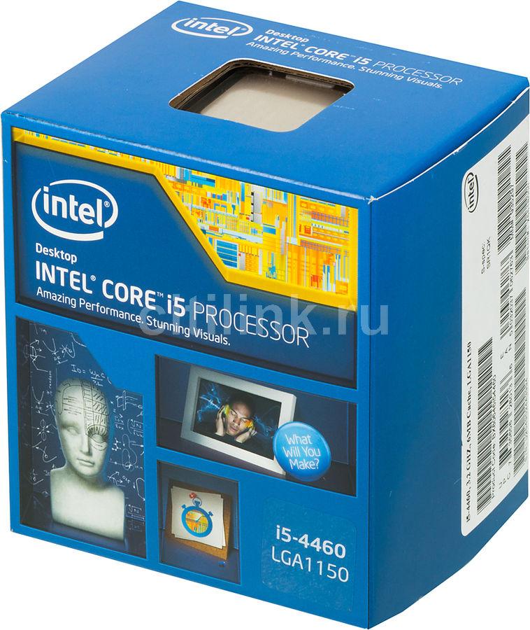 Процессор INTEL Core i5 4460, LGA 1150 * BOX [bx80646i54460 s r1qk]