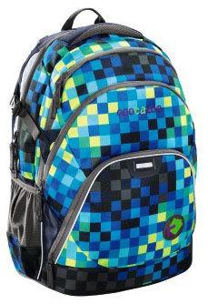 Рюкзак Coocazoo EvverClevver Deep Jungle Check синий/зеленый 00124770 отделение для ноутбука 15.6``
