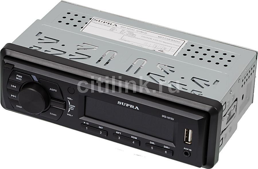 Автомагнитола SUPRA SFD-1015U,  USB,  SD/MMC