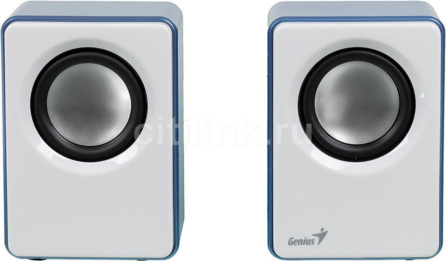 Колонки GENIUS SP-Q120,  синий [31731054103]