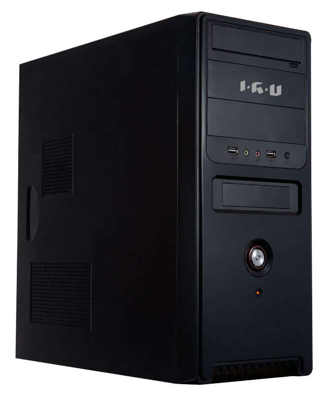 Компьютер  IRU Corp 335,  Intel  Core i3  4130,  DDR3 4Гб, 500Гб,  nVIDIA GeForce GT630 - 1024 Мб,  DVD-RW,  Windows 7 Professional,  черный [894308]