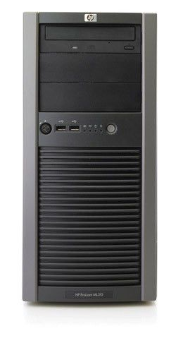 Сервер HP ML310T05 X3210 RPS SATA EU Svr (445335-421)