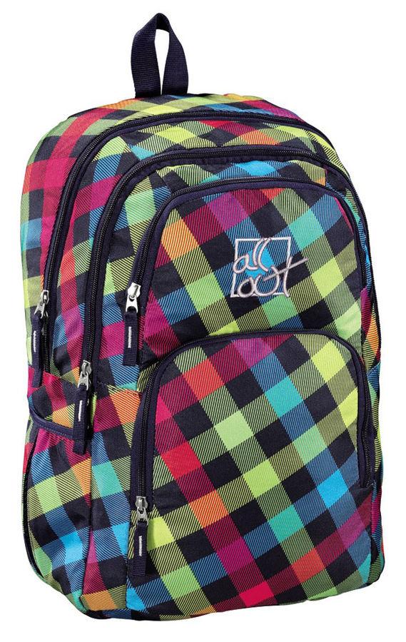Рюкзак All Out Kilkenny Rainbow Check желтый/розовый/голубой/черный 00124827