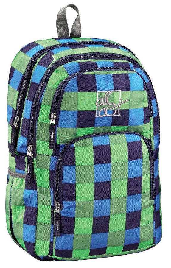 Рюкзак All Out Kilkenny Pool Check зеленый/черный клетка [00124828]