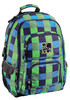Рюкзак All Out Louth Pool Check зеленый/голубой клетка [00124835] вид 1