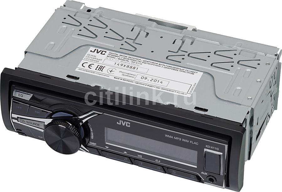 Автомагнитола JVC KD-X110EE,  USB