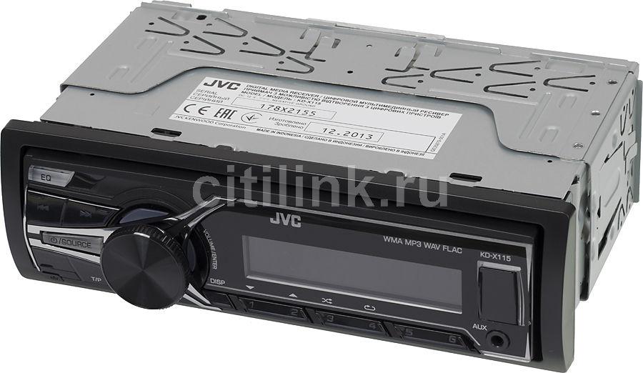 Автомагнитола JVC KD-X115EE,  USB