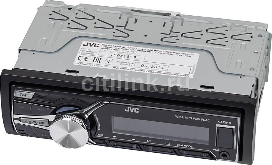 Автомагнитола JVC KD-X215EE,  USB