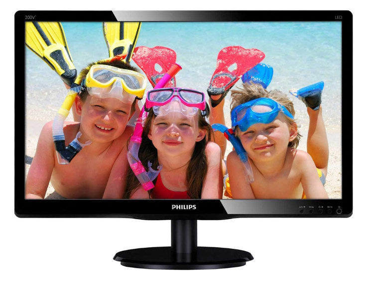 Монитор ЖК PHILIPS 200V4LSB (10/62) 19.5