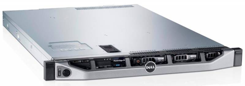 Сервер Dell PE R420 E5-2470/4Gb 2RLVRD 1.3/ x4 noHDD 3.5