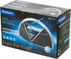 Аудиомагнитола ROLSEN RBM215MURBL,  черный и серебристый вид 12