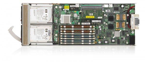Сервер HP BL460c G1 E5450 2G 1P Svr (459483-B21)