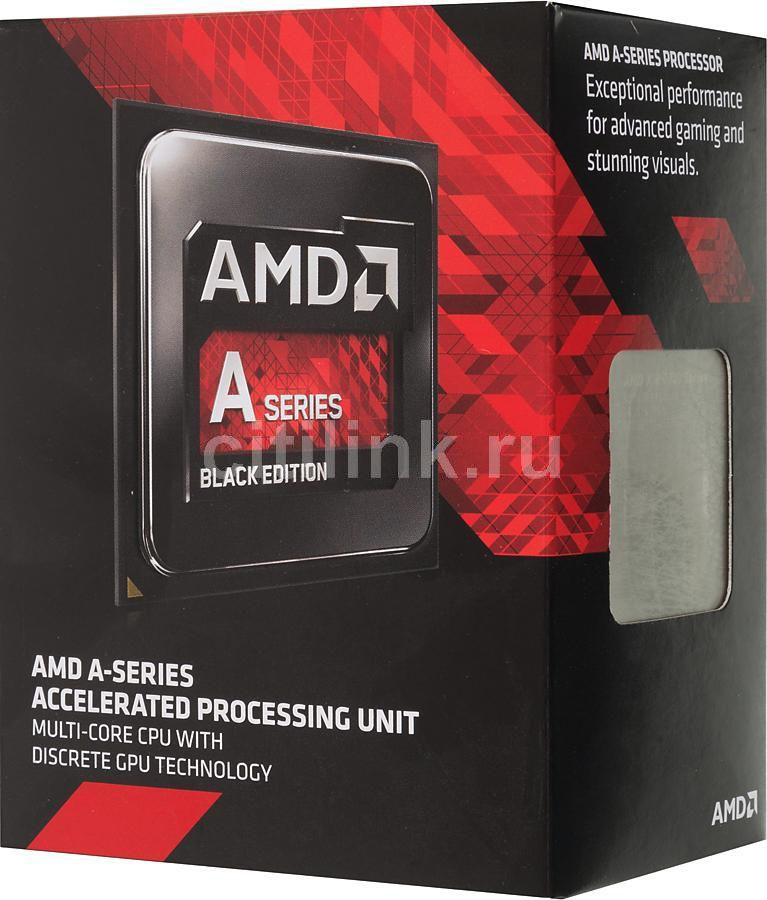 Процессор AMD A10 7850K, SocketFM2+ BOX [ad785kxbjabox]