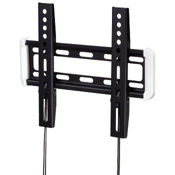 """Кронштейн для телевизора Hama H-118632 черный 10""""-47"""" макс.25кг настенный фиксированный"""