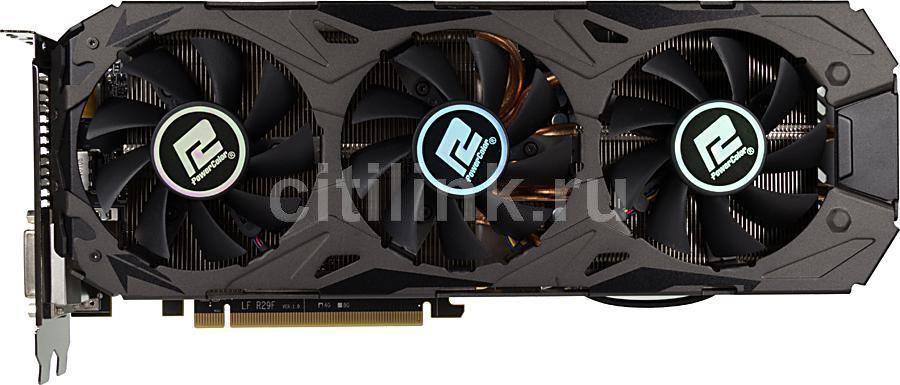 Видеокарта POWERCOLOR Radeon R9 290X,  4Гб, GDDR5, Ret [axr9 290x 4gbd5-ppdhe]