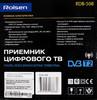 Ресивер DVB-T2 ROLSEN RDB-508,  черный [1-rldb-rdb-508] вид 8