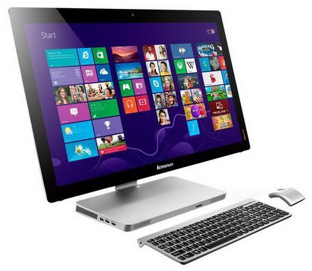 Моноблок LENOVO A530, Intel Core i7 4700MQ, 8Гб, 1Тб, nVIDIA GeForce GT740M - 2048 Мб, DVD-RW, Windows 8.1 [57323982]