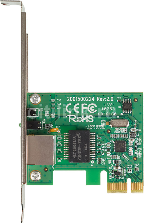 Сетевой адаптер Gigabit Ethernet TP-LINK TG-3468 PCI Express сетевой адаптер ethernet tp link ue200 usb 2 0