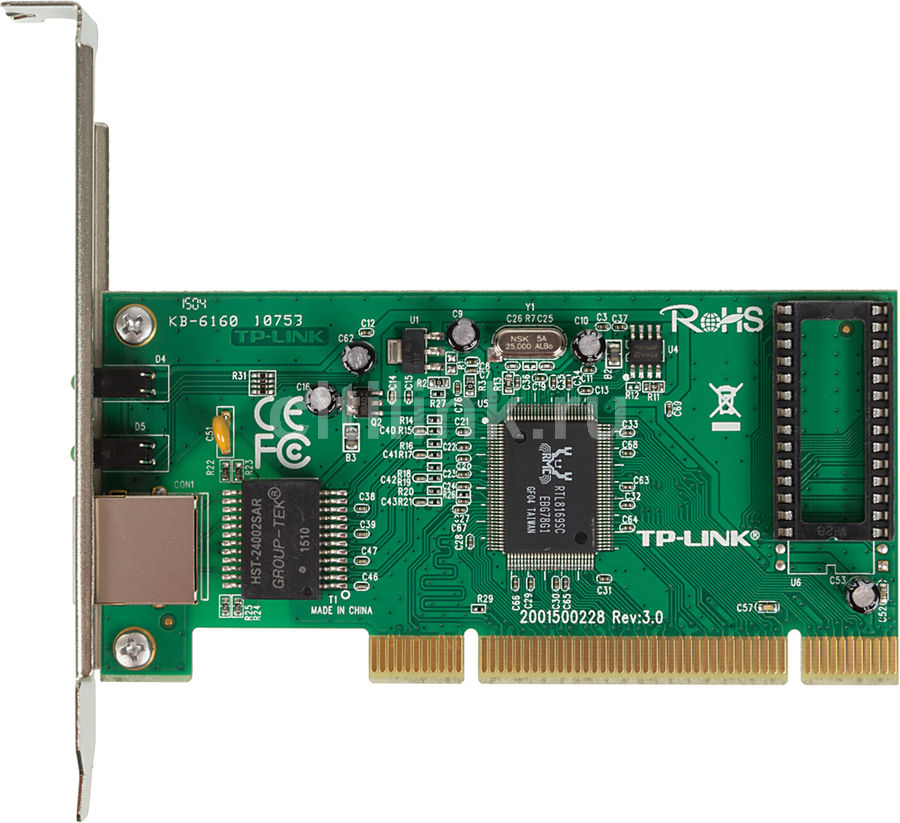 Сетевой адаптер Gigabit Ethernet TP-LINK TG-3269 PCI
