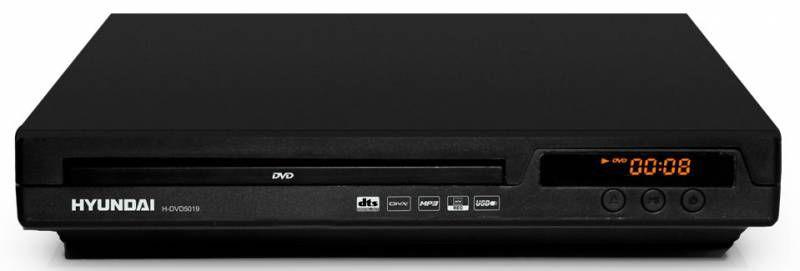 DVD-плеер HYUNDAI H-DVD5019,  черный [h-dvd5019(черный)]