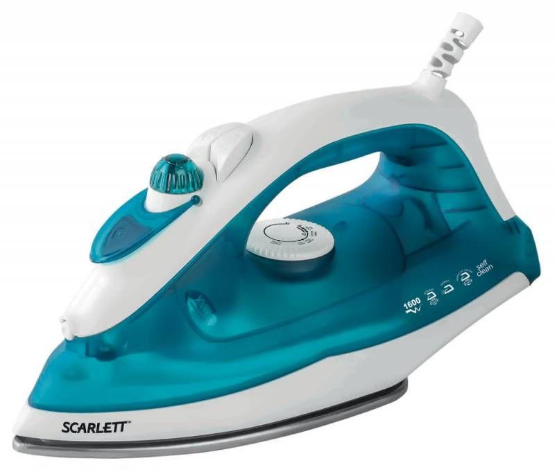 Утюг SCARLETT SC-SI30S01,  1600Вт,  синий