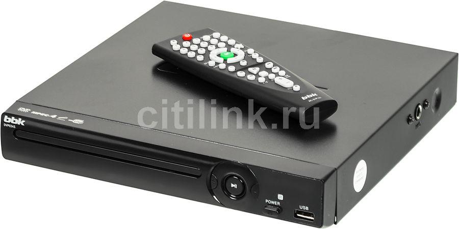 DVD-плеер BBK DVP034S,  черный