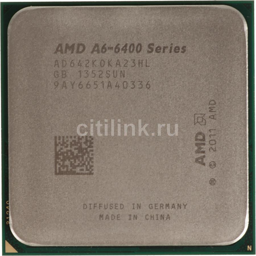 Процессор AMD A6 6420K, SocketFM2 OEM [ad642koka23hl]