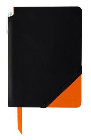 Записная книжка Cross Jot Zone (AC273-1L) черный/оранжевый 160стр. в линейку в компл.:ручка 25.4х19с