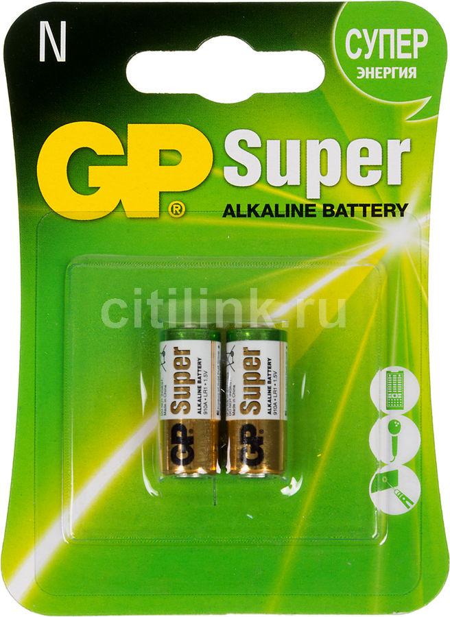 LR1 Батарейка GP Super Alkaline 910A,  2 шт.