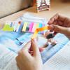 Закладки самокл. индексы бумажные Stick`n 21617 4цв.в упак. 40лист 12x50мм+38x50мм блистер вид 3