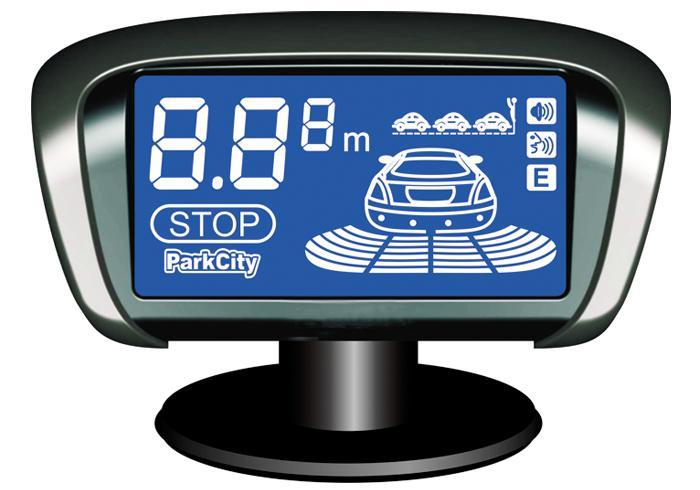 Парковочный радар PARKCITY Paris 418/301L Black,  черный