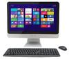 Моноблок IRU 207, Intel Celeron 1005M, 4Гб, 500Гб, Intel HD Graphics, DVD-RW, Windows 7 Professional, черный и серебристый [897618] вид 1
