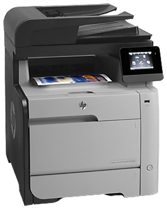 МФУ HP Color LaserJet Pro M476dw,  A4,  цветной,  лазерный,  черный [cf387a]