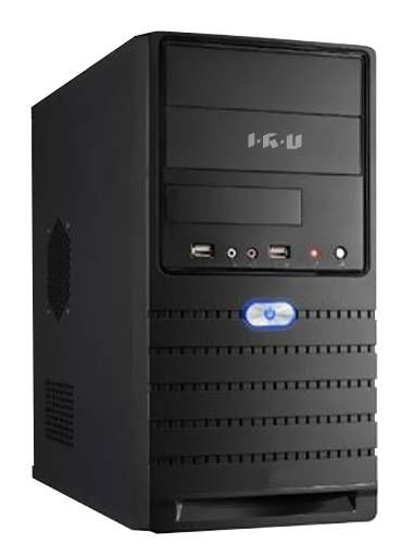 Компьютер  IRU Corp 319,  Intel  Celeron  G1620,  DDR3 4Гб, 500Гб,  Intel HD Graphics,  DVD-RW,  Windows 7 Professional,  черный